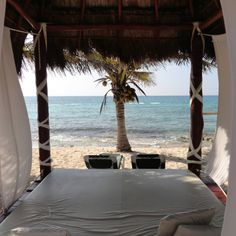 Canopy bed at EDR Casitas @Susan Dunn Travel Group, Llc.  ..#DreamscapeTravelGroup @DreamscapeVac4U Let Dreamscape Travel Group help plan your next destination wedding, honeymoon or vacation getaway, Call 224 265 0197