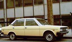 FIAT 131  MIRAFIORI: une des voitures de mon grand père