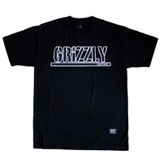 #Grizzlygriptape #Tshirt Premiere OG Stamp Noir: http://everythinghiphop.fr/nouveautes/grizzly-griptape-t-shirt-premiere-og-stamp-noir.html #grizzly #teeshirt #tshirts #skate #streetwear