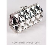 Triangle Diamond Clutch WeClickd.com - The Social Network for Weddings