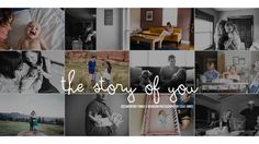 Colie James Photography - The Story of YOU - what a great idea