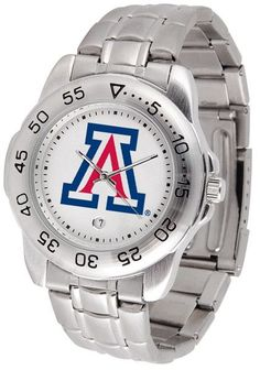 NCAA Mississippi Rebels Men's Anochrome Sport Watch with Stainless Steel Band by SunTime. NCAA Mississippi Rebels Men's Anochrome Sport Watch with Stainless Steel Band. Links Make Watch Adjustable. Iowa State Cyclones, Michigan State Spartans, Arizona Wildcats, Wisconsin Badgers, Arizona State, Iowa Hawkeyes, Oklahoma, Mens Sport Watches, Watches For Men