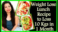 Weight Lose Lunch Recipe to Loss 10 Kgs in 1 Month | Easy and Healthy Lu...