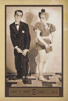 1930s Vaudeville Performers Vintage Greeting Cards… - FNO Marketplace at Festivalnet.com