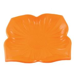 """Amico Home Plastic Orange Floral Pattern Design Salad Fruit Plate Dish by Amico. $4.46. Color : Orange. Package Content : 1 x Fruit Plate. Net Weight : 108g. Size : 21 x 2cm / 8.3"""" x 0.78""""(D*H). Product Name : Fruit Plate;Material : Hard Plastic. Made of plastic material, in flower shape design, this lovely plate is an ideal gift for you to put the fruit or salad, it will be great decoration on your table."""