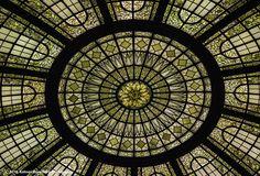 Tiffany Rotunda Skylight, Cleveland Trust Bank, Cleveland, OH 2012 By Kolman Rosenberg