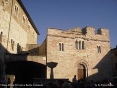 St. Silvestro's in Bevagna town is an authentic roman church.     #Bevagna #Umbria #Italy