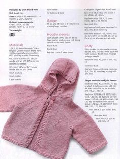 Baby and toddle hoodie knitting pattern sizes 6 12 months 12 18 months 2 years 3 years Baby Cardigan Knitting Pattern Free, Baby Boy Knitting Patterns, Baby Sweater Patterns, Knitted Baby Cardigan, Knit Baby Sweaters, Knitted Baby Clothes, Baby Clothes Patterns, Baby Patterns, Free Knitting