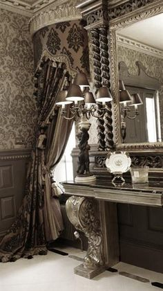 Formal Tuscan Dining Roomcustom Draperies Of This Style Fair Formal Dining Room Curtain Ideas Decorating Design
