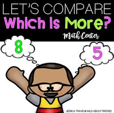 This FREE center will be perfect to use during your unit on comparing numbers, beginning of the year review, or even just as a center during a study on numbers!This center focuses on which number is more, or has a higher value.  This center was intended for kindergarten and 1st grade review.