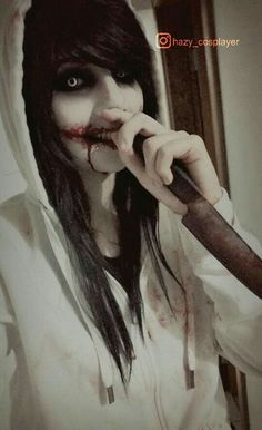 Old Jeff the killer cosplay by HazyCosplayer - COSPLAY IS BAEEE! Tap the pin now to grab yourself some BAE Cosplay leggings and shirts! From super hero fitness leggings, super hero fitness shirts, and so much more that wil make you say YASSS! Creepypasta Quotes, Creepypasta Proxy, Creepypasta Characters, Jeff The Killer, Creepy Horror, Horror Art, Laughing Jack, Scary Halloween Costumes, Emo Scene