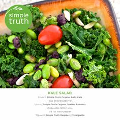 Kale us crazy but we've found a simple salad recipe that you won't be able to get enough of!