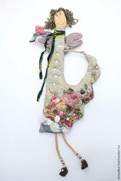Сказочные персонажи ручной работы. Ярмарка Мастеров - ручная работа. Купить цветочная. Handmade. Ангел, Цветочная фея, крылья, шифон