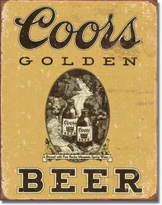 Coors Vintage Style Metal Sign