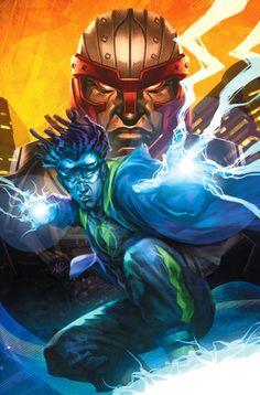 superheroesincolor:Milestone Forever #2 coverbyStanley Lau