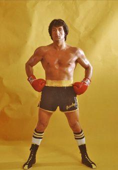Silvester Stallone in Rocky