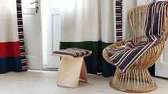 Papillon collection, wool & linen - Johanna Gullichsen
