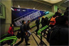 Campagna affissioni Ultra internet in azione - Yes I AM per Telecom Italia Broadway Shows, Internet, Italia