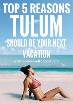 Tulum, Mexico has crystalline water, white-sand beaches, amazing food and laid-back vibes. This underrated destination should be on your travel itinerary.
