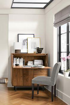 Modern Home Office Modern Beach Decor, Modern Desk, Modern Table, Drop Down  Desk
