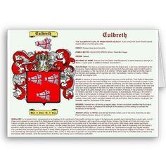 Culbreth (Galbraith) Coat of Arms