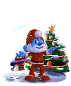 Natal não seria o mesmo sem Papai Smurf!