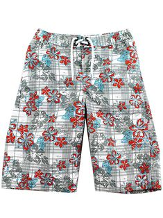 1f5eb29ca9982 Enjoy a swim in these stylish and dapper swim board shorts. These FishFace Kids  boys swim trunks are perfect for the pool, beach, or anywhere else exciting  ...
