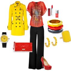 sunny, created by wiensy on Polyvore