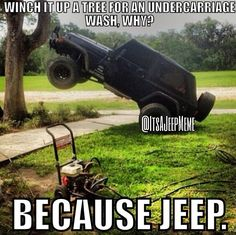 Because Jeep