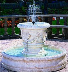 Classico Lion Fountain #662-LF