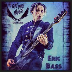 Get Your Wings; Dean Guitars; Eric Bass <3