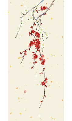 Chinese Painting, Chinese Art, Cherry Blossom Drawing, Chinese Embroidery, Background Drawing, Tribal Art, Asian Art, Japanese Art, Aesthetic Wallpapers