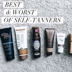 The Best Self-Tanners to get you Summer Body Ready!