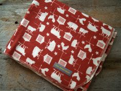 Extra Large Farm Animals Weather Vane  Flannel by yeSweetheart