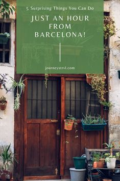 5 Surprising Things You Can Do, Just An Hour From Barcelona! Barcelona Beach, Barcelona Travel, Barcelona Food, Barcelona Spain, Winter Wedding Destinations, Destination Wedding Locations, Travel Destinations, Barcelona Things To Do In, Spain Culture