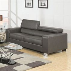 Furniture of America CM6336 Makri Sofa