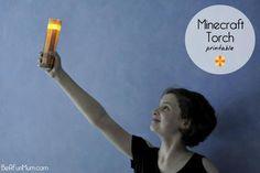 Minecraft Torch (With Flickering Light) | Be A Fun Mum
