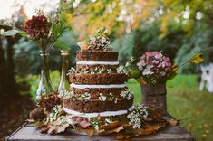 chocholate wedding cake