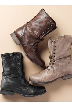 Ankle boots, a must-have for festival season. It's the shoe that goes with almost everything!