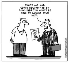 The Lighter Side Of The Cloud – Security Overkill
