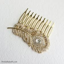 Image result for wedding hair accessories gold