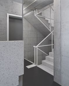 Unbelievable Modern Architecture Designs – My Life Spot Wrought Iron Handrail, Metal Handrails, Steel Balustrade, Modern Architecture Design, Residential Architecture, Interior Architecture, Interior Design, Staircase Railings, Stairways