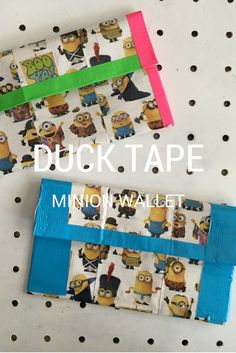 Duck Tape Minion wal