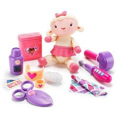 """Polyester and plastic, imported, doll: 7.5"""" h, ages 3 and up.Warning: Choking Hazard. Small parts. Not for children under 3 years.While supplies last.©Disney"""
