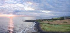 https://flic.kr/p/zQdBFb | Dunstaburgh Castle at Dawn | Aerial Panorama