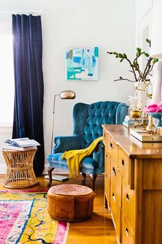 Bohemian Chic Living Rooms-42-1 Kindesign