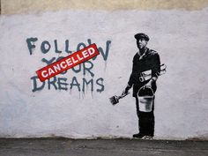 chernobil: ciudad de vacaciones: banksy: arte anónimo callejero