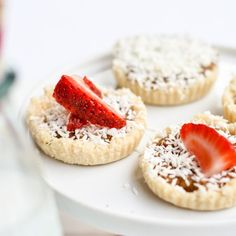 Vegan & Raw Coconut Tarts