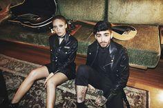 由女友掌鏡!Gigi Hadid以iPhone拍攝Zayn主演的Versus春夏廣告