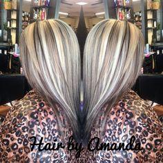 Bildergebnis für platinum highlights over dark hair Platinum Highlights, Platinum Blonde Hair, Hair Highlights, Chunky Blonde Highlights, Balayage Blond, Hair Color Balayage, Hair Styles 2016, Long Hair Styles, Summer Blonde Hair